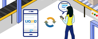 liquid ui solutions is not just about delivering a standard sap pm module  to mobile devices  with robotic process automation (rpa) for sap, you can  fully